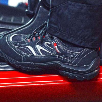 Linea scarpe<br /> agili e forti U-POWER