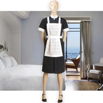 cirri collection abbigliamento professionale cameriera ai piani sera grembiule mod 366. Black Bedroom Furniture Sets. Home Design Ideas